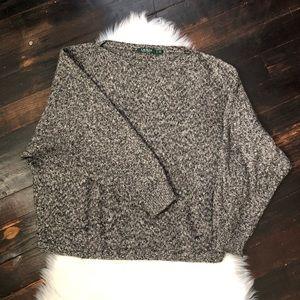 LAUREN Ralph Lauren Sweater in Gray XL